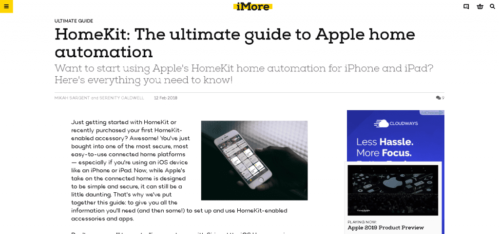 Guide to Home Automation with Apple